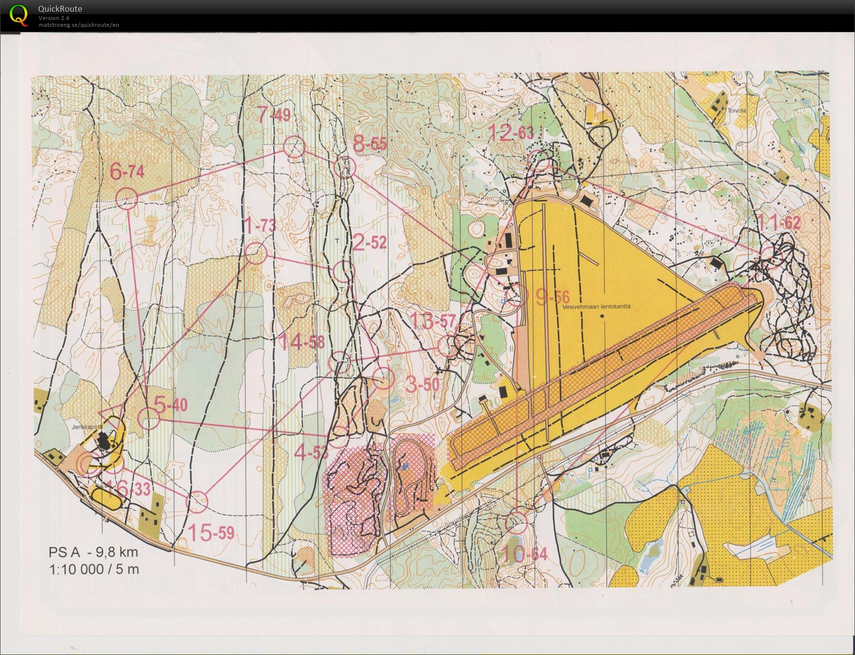 MiryCup 8. osakisa - August 7th 2019 - Orienteering Map from ... on us airways phoenix airport map, u.s. airline hub map, piedmont nc map, us airways charlotte map, us airways clt airport map, piedmont on us map, psa super 80 seat map,