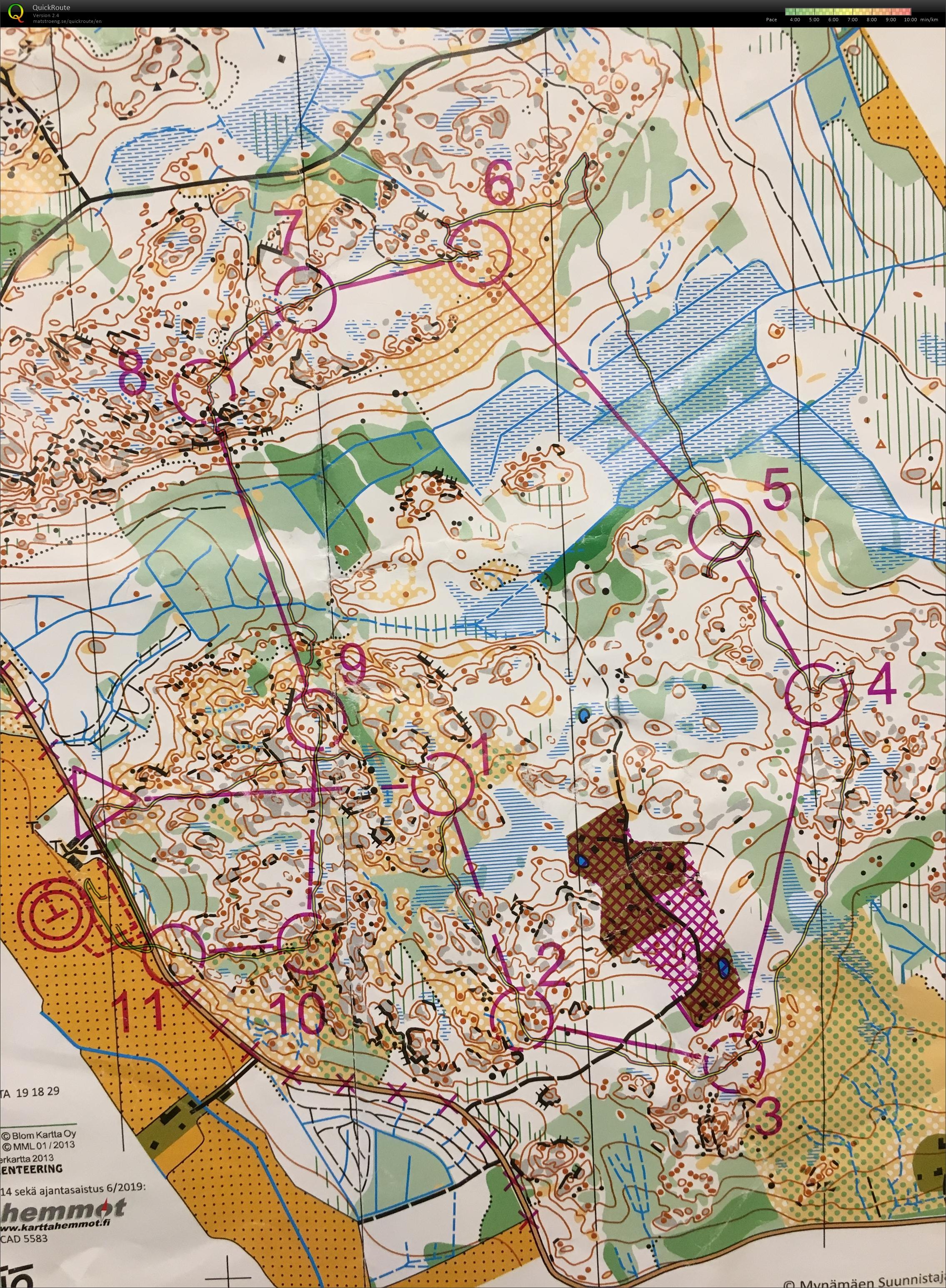 My Digital Orienteering Map Archive Sm Viesti 2019 09 21