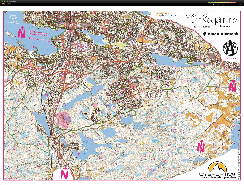 My Digital Orienteering Map Archive Yo Rogaining 10 11 2017